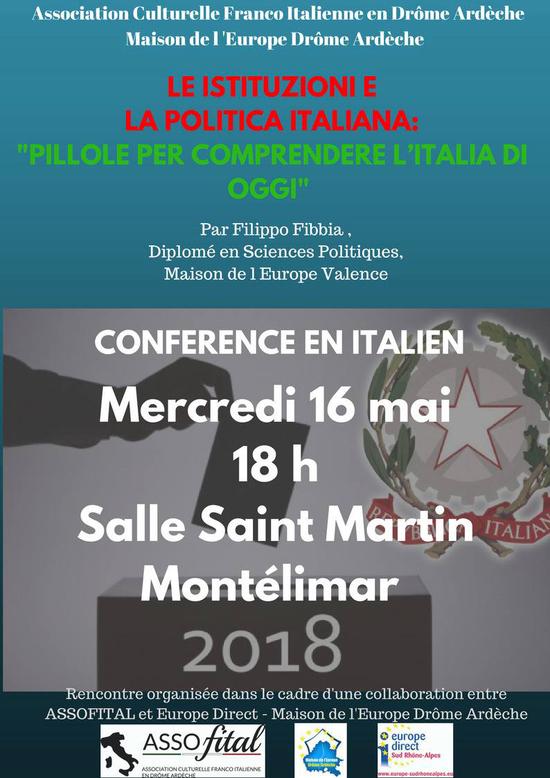 Les institutions et la politique italienne.