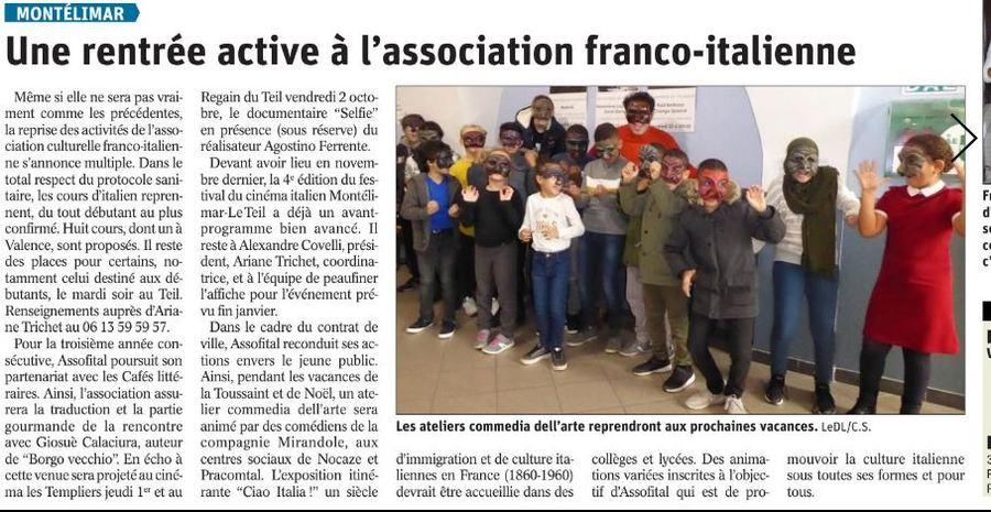 Assofital s'invite dans le Dauphiné